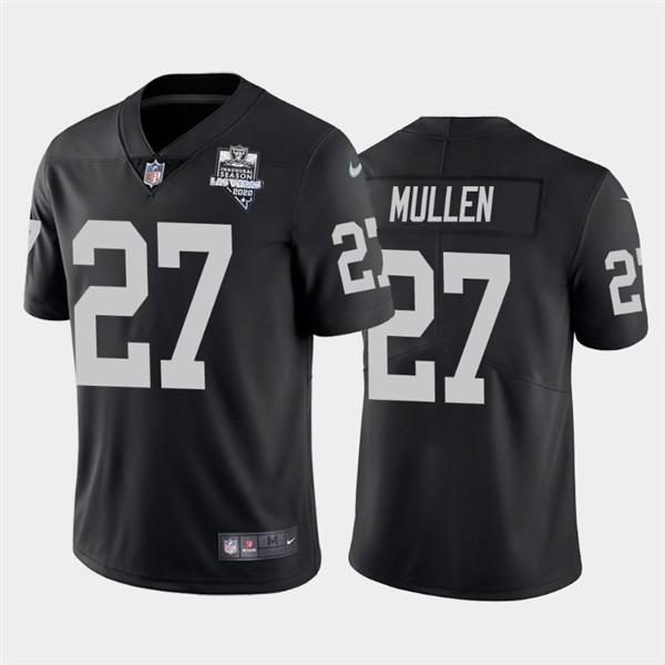 Nike Las Vegas Raiders 27 Trayvon Mullen Black 2020 Inaugural Season Vapor Untouchable Limited Jersey