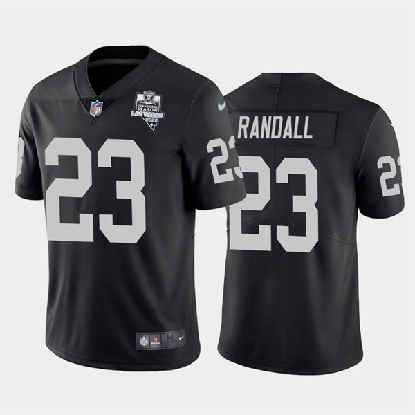 Nike Las Vegas Raiders 23 Damarious Randall Black 2020 Inaugural Season Vapor Untouchable Limited Jersey