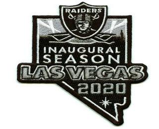 Las Vegas Raiders 2020 Inaugural Season Patch