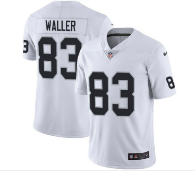 Men's Oakland Raiders #83 Darren Waller White Vapor Untouchable Limited Stitched NFL Jersey