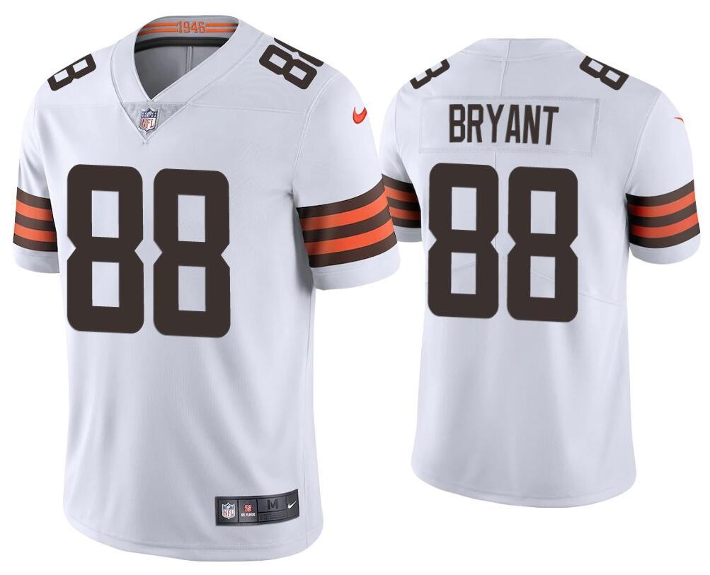 Nike Cleveland Browns #88 Harrison Bryant White 2020 New Vapor ...