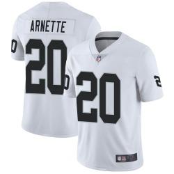 Men's Las Vegas Raiders #20 Damon Arnette Limited White Vapor Untouchable Jersey