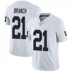 Men's Las Vegas Raiders #21 Cliff Branch White Vapor Untouchable Stitched NFL Nike Limited Jersey