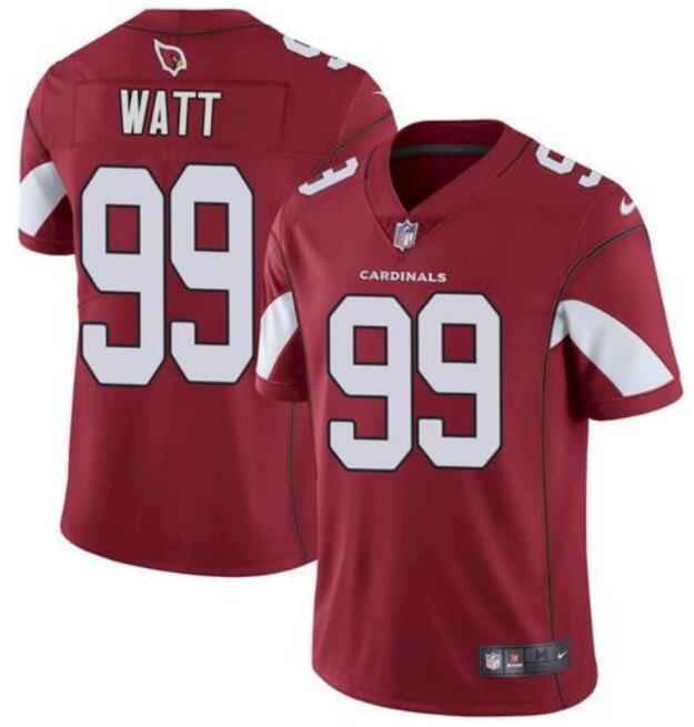 Men's Arizona Cardinals #99 J. J. Watt Red 2021 Vapor Untouchable Stitched NFL Nike Limited Jersey