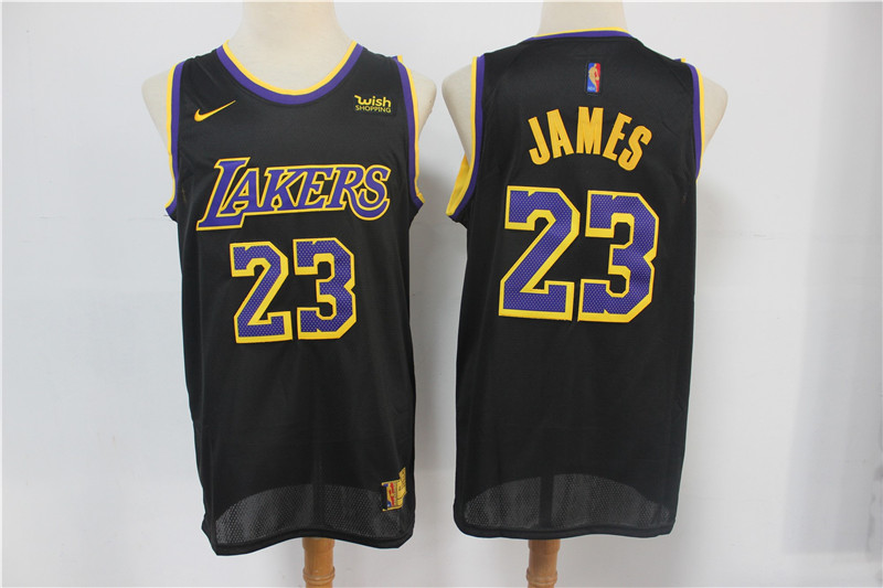 lebron james black sleeved swingman jersey