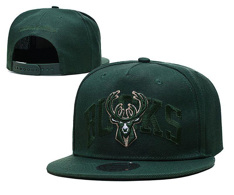 2021 NBA Milwaukee Bucks Hat TX326