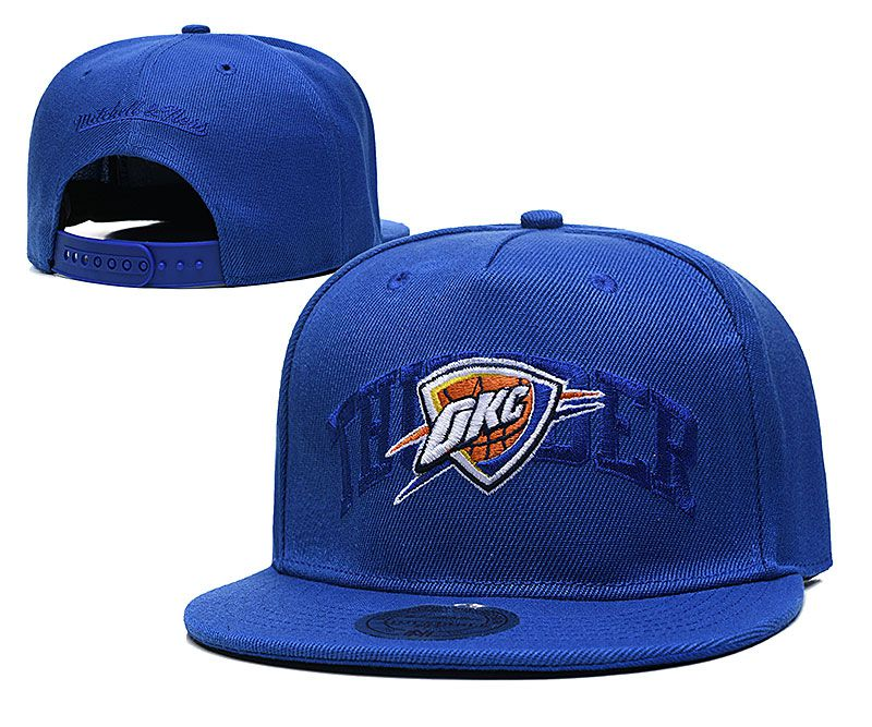 2021 NBA Oklahoma City Thunder Hat TX326