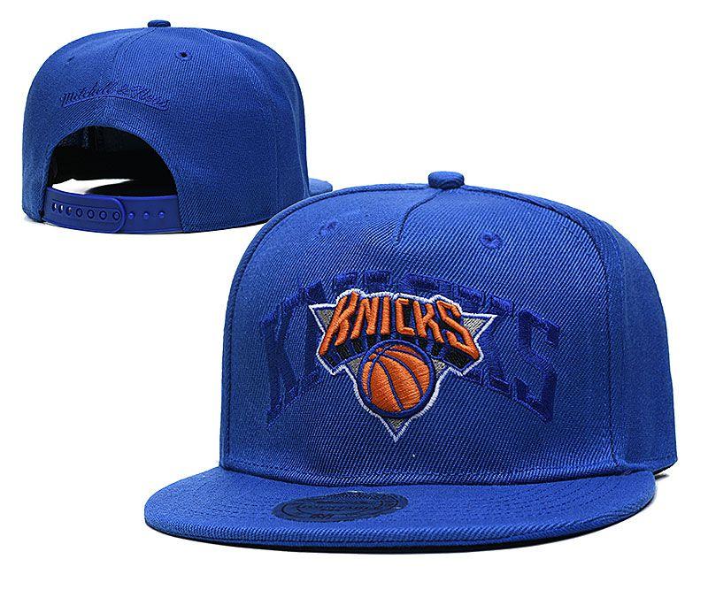 2021 NBA New York Knicks Hat TX326