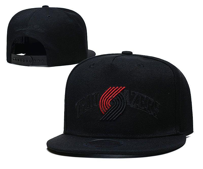 2021 NBA Portland Trail Blazers Hat TX326