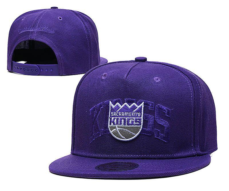 2021 NBA Sacramento Kings Hat TX326