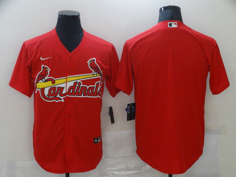 Men St.Louis Cardinals Blank Red Game Nike MLB Jerseys