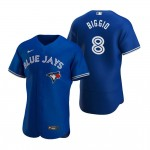 MLB Toronto Blue Jays #8 Cavan Biggio Blue 2020 Nike FlexBase Jersey