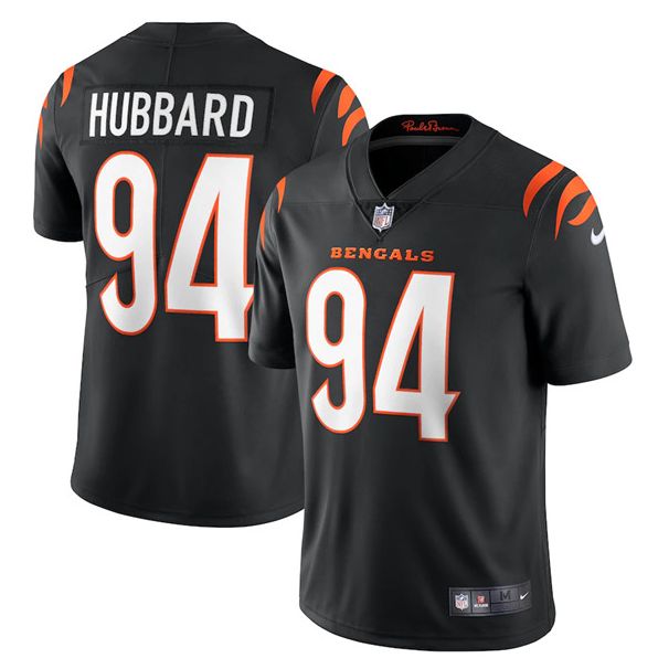 Men's Cincinnati Bengals #94 Sam Hubbard 2021 Black Vapor Untouchable Limited Stitched Jersey