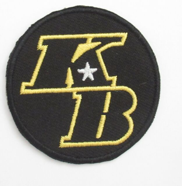 KB Kobe Bryant Los Angeles Lakers Sport Embroidery Patch