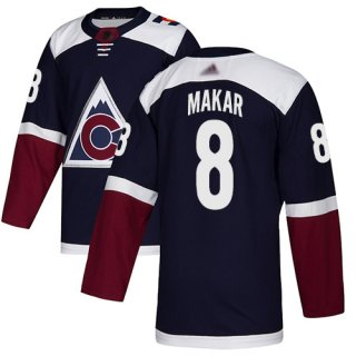 Adidas Colorado Avalanche #8 Cale Makar Navy Alternate Authentic Stitched NHL Jersey