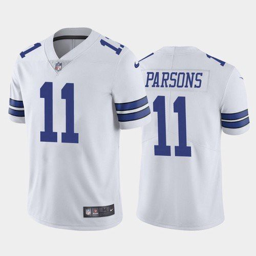 Dallas Cowboys #11 Micah Parsons White 2021 Limited Football Jersey
