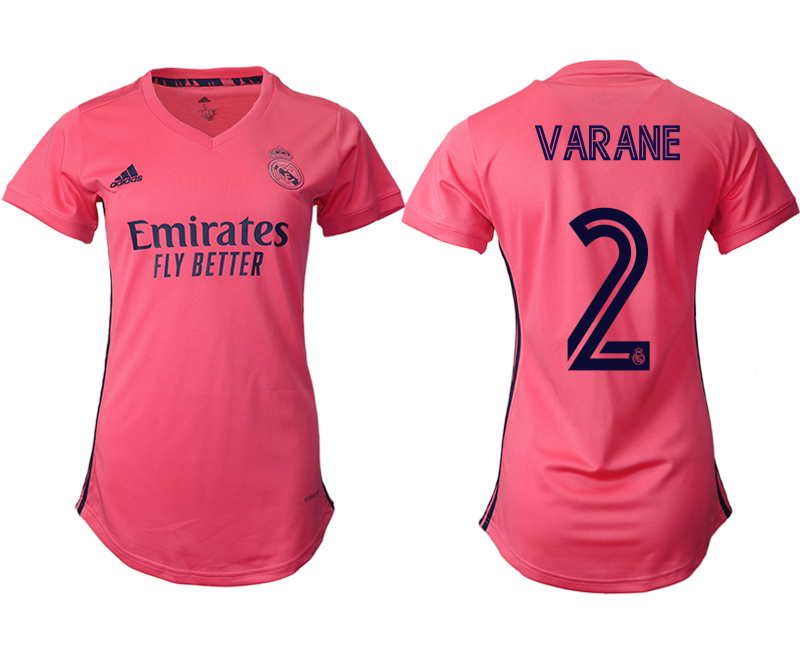 2021 Real Madrid away aaa version women 2 soccer jerseys