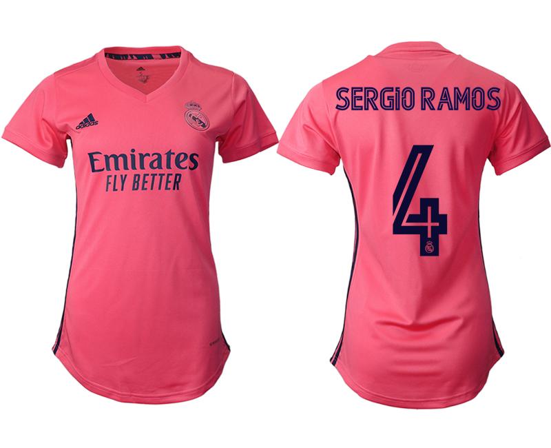 2021 Real Madrid away aaa version women 4 soccer jerseys