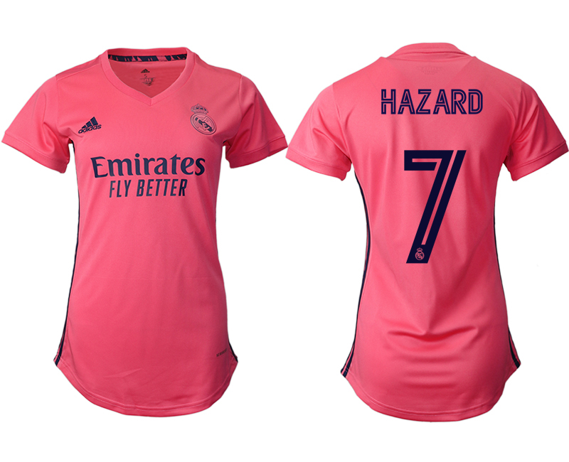 2021 Real Madrid away aaa version women 7 soccer jerseys