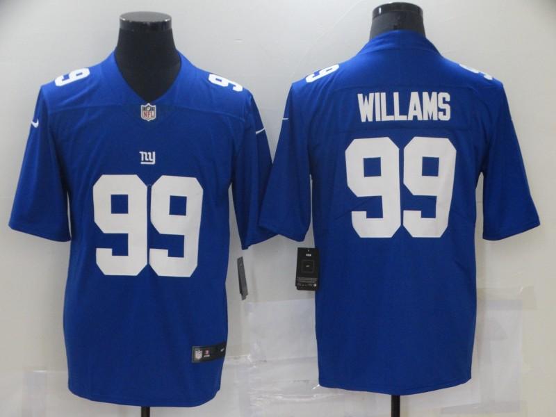 Nike Giants 99 Leonard Williams Royal Vapor Untouchable Limited Jersey