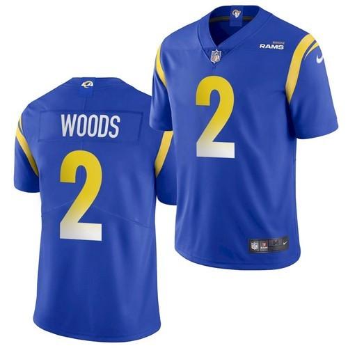 Nike Rams 2 Robert Woods Royal Vapor Untouchable Limited Jersey