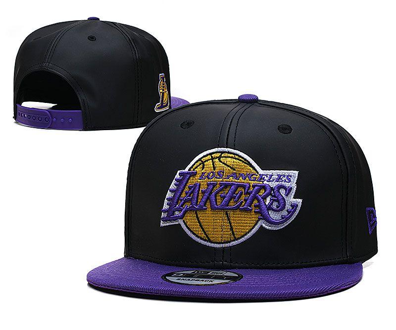 2021 NBA Los Angeles Lakers Hat TX427