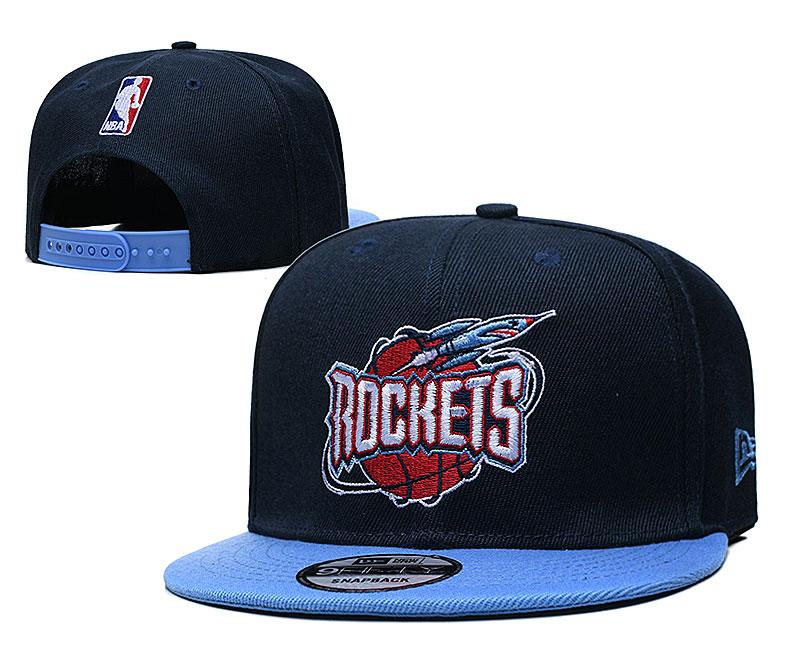 2021 NBA Houston Rockets Hat TX57