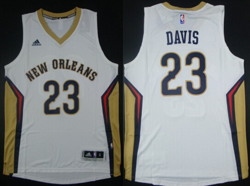 official photos 2cbb2 9a421 New Orleans Pelicans #23 Anthony Davis Revolution 30 ...