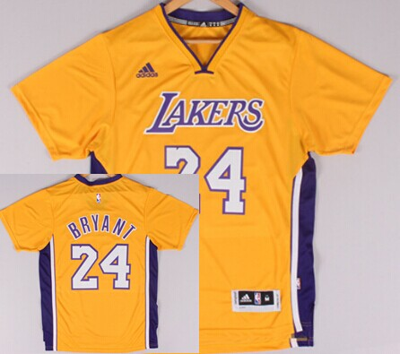 Los Angeles Lakers #24 Kobe Bryant Revolution 30 Swingman 2014 New ...