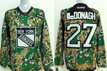 new york rangers 27 ryan mcdonagh 2014 camo jersey