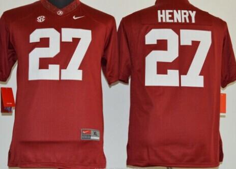 newest collection 47688 72648 Alabama Crimson Tide #27 Derrick Henry 2014 Red Limited Kids ...