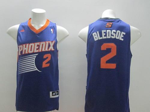 1e4981abbc9 Phoenix Suns #2 Eric Bledsoe Revolution 30 Swingman Purple Jersey on ...