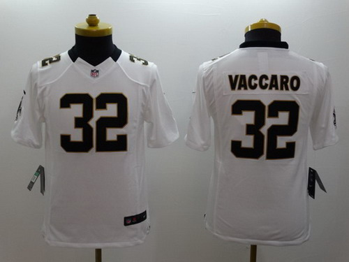Nike New Orleans Saints #32 Kenny Vaccaro White Limited Kids ...