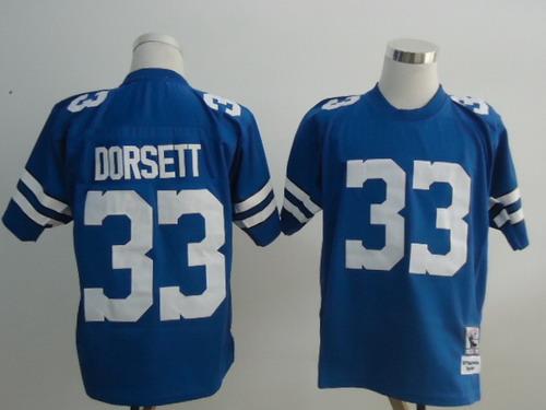 Dallas Cowboys #33 Tony Dorsett Light Blue Throwback Jersey on ...
