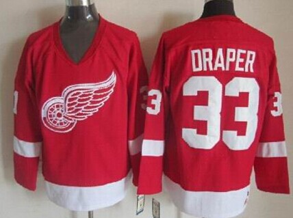 37a3cc513 ... usa detroit red wings 33 kris draper red throwback ccm jersey 5db41  53c2b