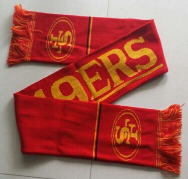 San Francisco 49ers Red Scarf