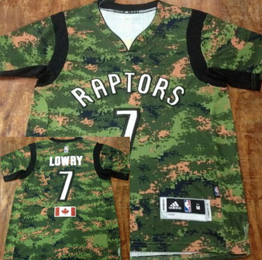 new style 34966 0a79c Toronto Raptors #7 Kyle Lowry Revolution 30 Swingman 2014 ...
