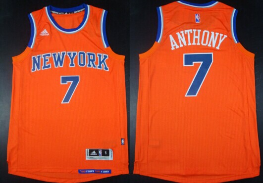 New York Knicks 7 Carmelo Anthony Revolution 30 Swingman 2014 New