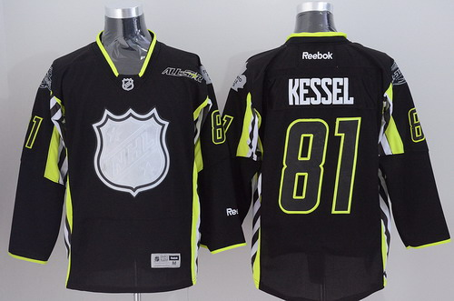 Toronto Maple Leafs #81 Phil Kessel 2015 All-Stars Black Jersey