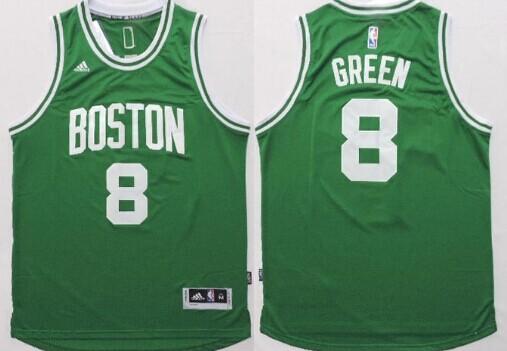 separation shoes 18e87 01bb0 Boston Celtics #8 Jeff Green Revolution 30 Swingman 2014 New ...