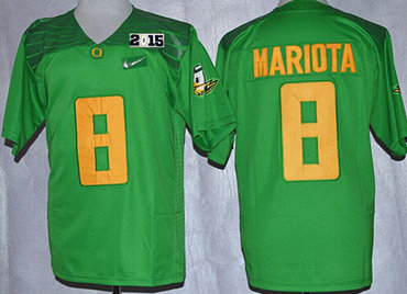 wholesale dealer 191fa f712f Oregon Ducks #8 Marcus Mariota 2014 White Limited Kids ...