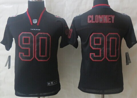 black and gray texans jersey