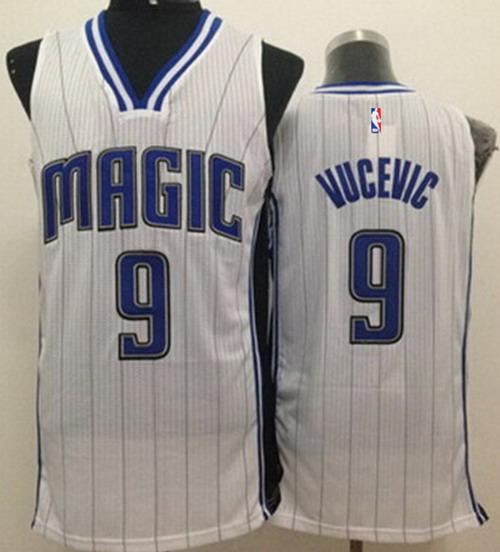 661ea7366 Home » Men s NBA Jerseys » NBA Swingman » Orlando Magic. Orlando Magic  9  Nikola Vucevic White Swingman Jersey