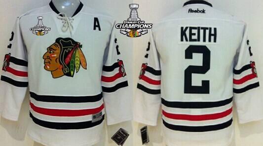 duncan keith kids jersey