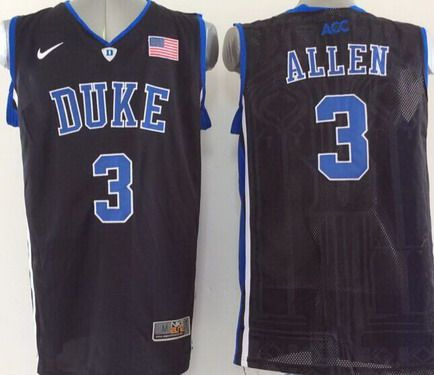 e4339b1645d Duke Blue Devils #3 Grayson Allen Black Jersey on sale,for Cheap ...