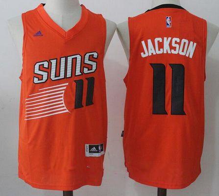 46894db5b04 Men's 2017 Draft Phoenix Suns #11 Josh Jackson Orange Stitched NBA adidas  Revolution 30 Swingman