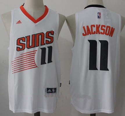 202865ac8cc Men's 2017 Draft Phoenix Suns #11 Josh Jackson White Stitched NBA adidas  Revolution 30 Swingman Jersey