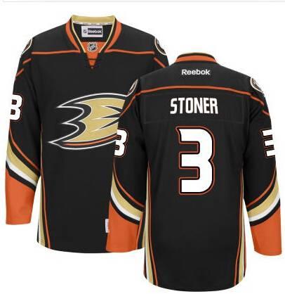 Men's Anaheim Ducks #3 Clayton Stoner Black Third Jersey on sale ...