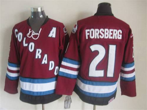 huge selection of 7c0a4 172cf Men's Colorado Avalanche #33 Patrick Roy 2001-02 Red CCM ...