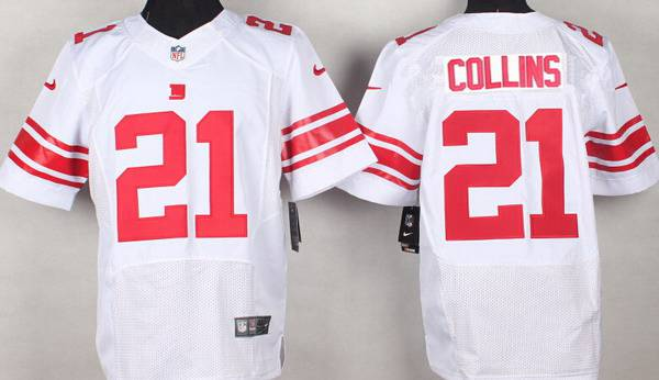 uk availability 300b3 e73c4 Men's New York Giants #21 Landon Collins Nike White Elite ...